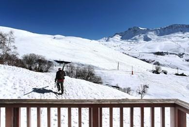 location ski saint francois longchamp residence odalys les balcons du soleil