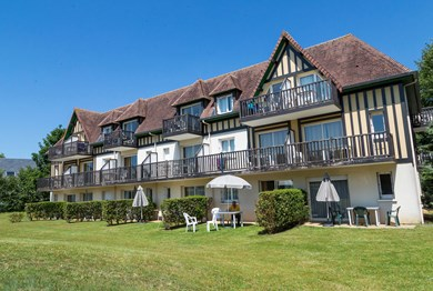 location cabourg residence odalys green panorama