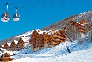 location ski valloire residence odalys le hameau et les chalets de la vallee d or