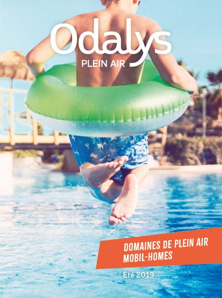 odalys couverture brochure plein air E19